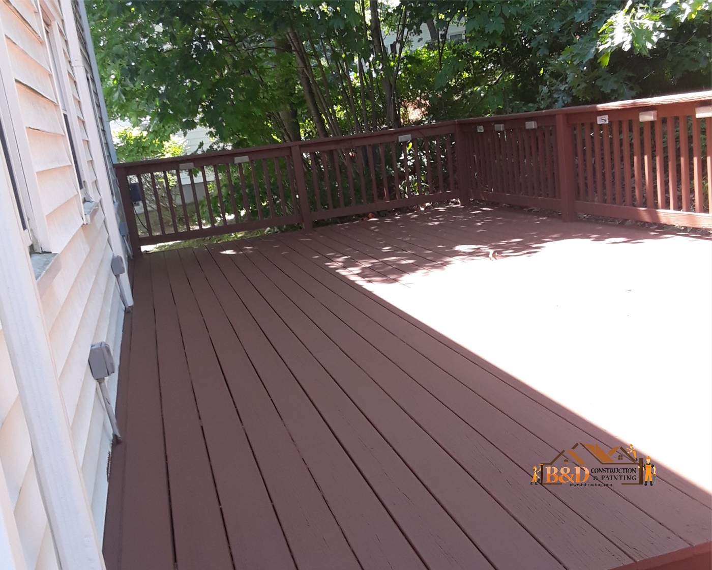 Deck Painting after